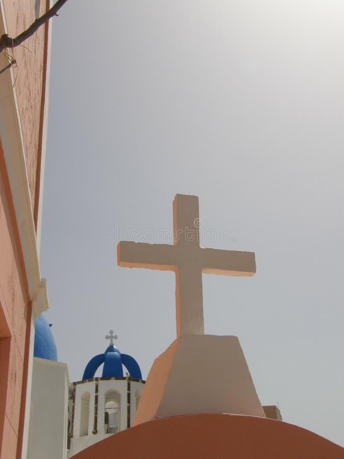 перекрестное святейшее стоковое изображение
