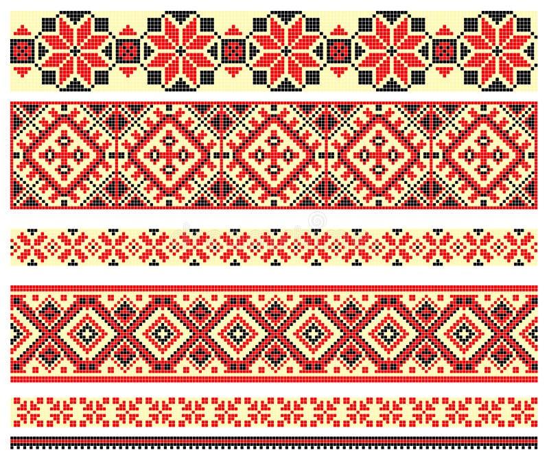 перекрестный стежок картины вышивки бесплатная иллюстрация
