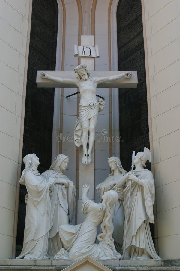 перекрестный jesus стоковое фото rf