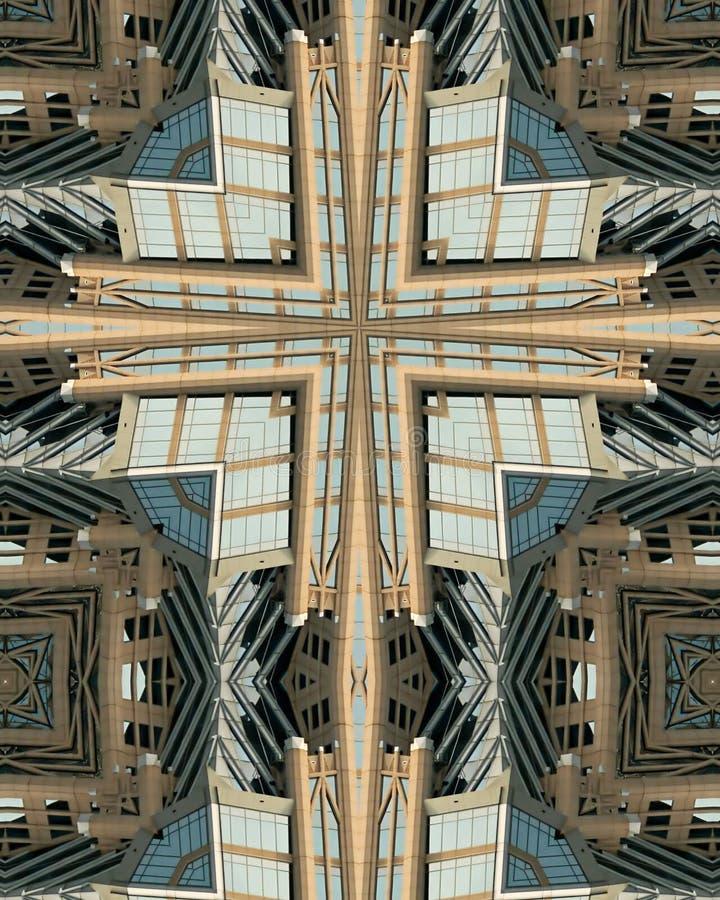 перекрестный kaleidoscope tower2 hearst стоковое фото rf