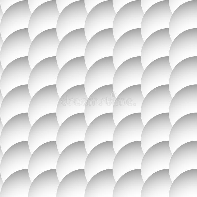Download Перекрывая картина кругов безшовная, Monochrome предпосылка Sha Иллюстрация вектора - иллюстрации насчитывающей иллюстрация, украшение: 81801261