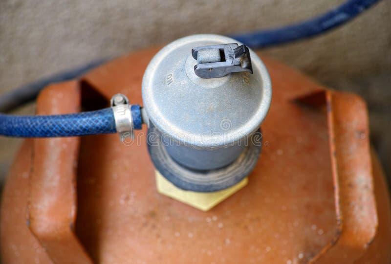 Переключатель газового регулятора стоковые изображения rf