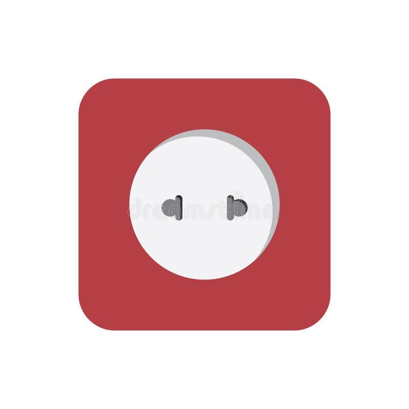 Переключите электрическое стоковое изображение rf