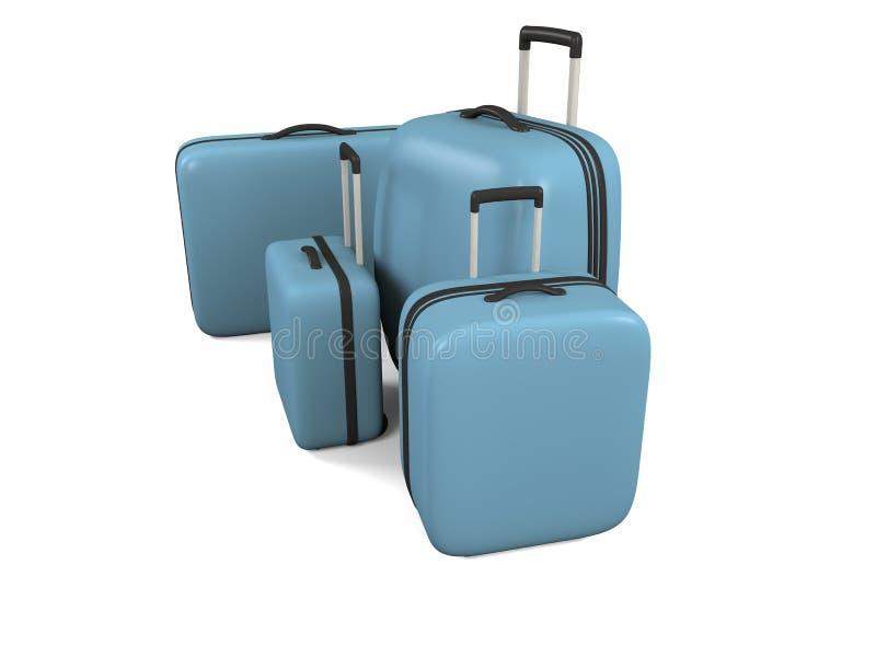 перемещение багажа Стоковая Фотография
