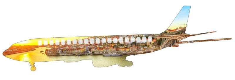 Перемещение в Португалии стоковое фото rf