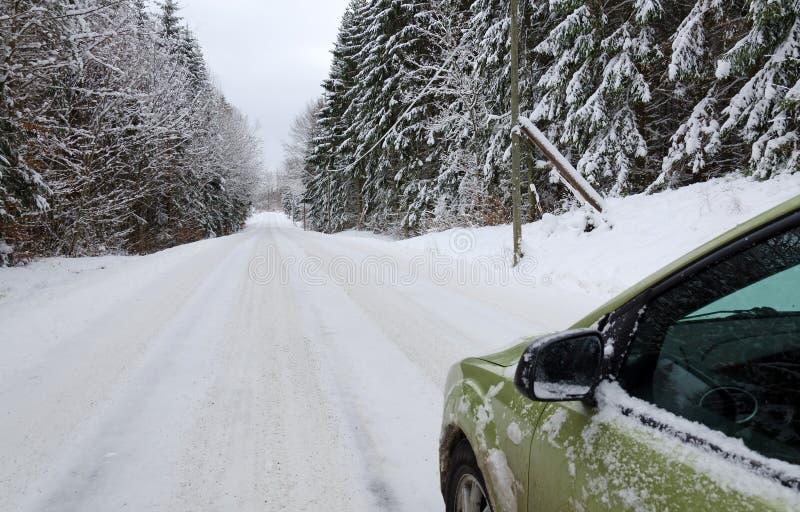Перемещение зимы Стоковые Изображения RF