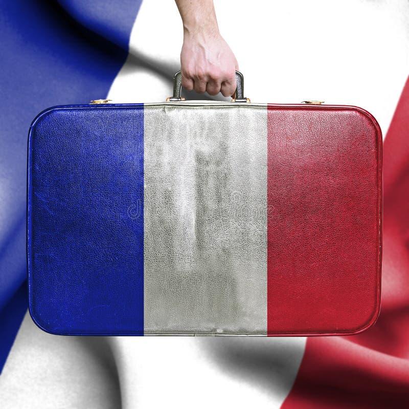 Перемещение к Франции стоковое фото