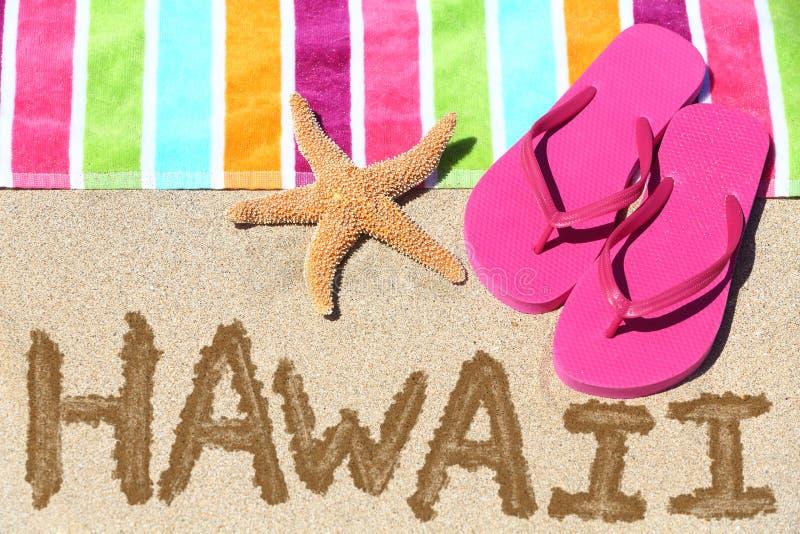 Перемещение пляжа Гаваи стоковая фотография