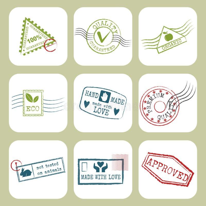 Перемещение штемпелюет фиктивные пасспорт grunge символов международного аэропорта или иллюстрацию вектора знака почтового сбора иллюстрация штока