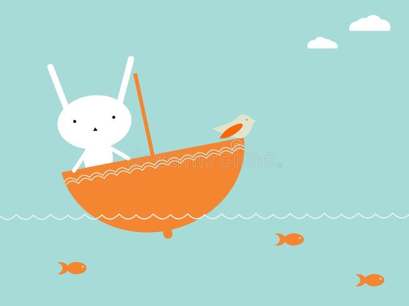 перемещение bunnie s бесплатная иллюстрация
