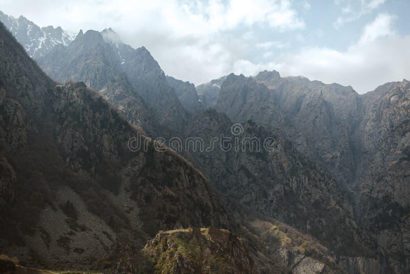 Перемещение Georgia горы стоковое фото