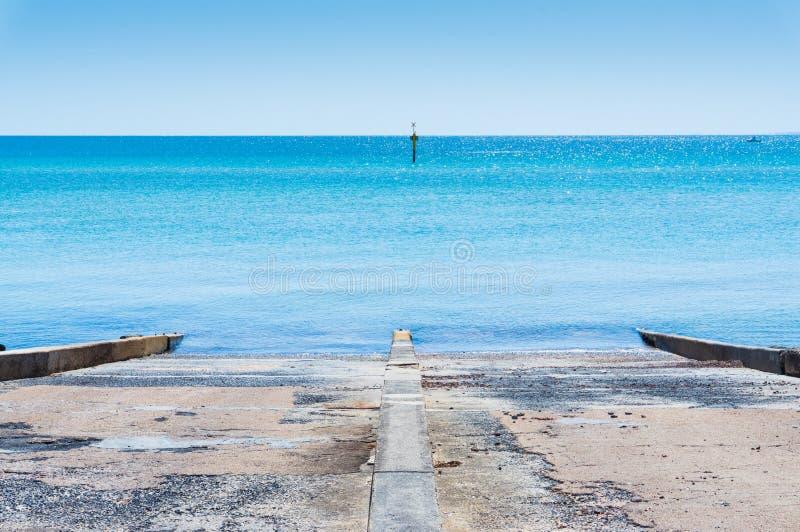 Перенесите залива и foreshore Филиппа в Frankston, Мельбурне стоковая фотография rf