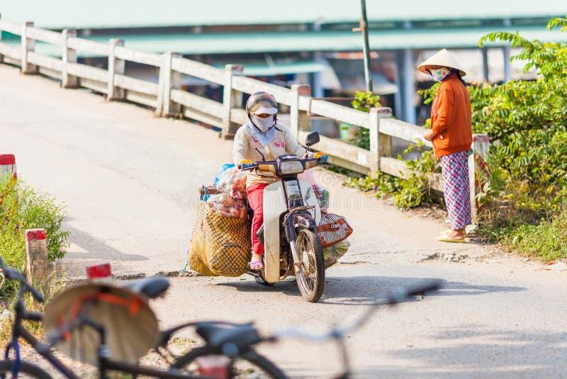 перепад mekong Вьетнам  стоковое фото rf
