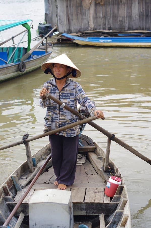 Перепад Меконга вьетнамца стоковые фотографии rf