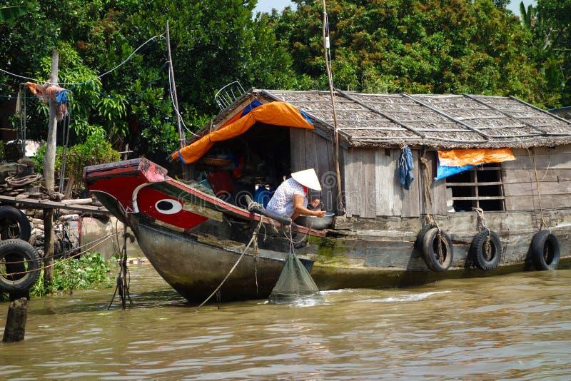 Перепад Меконга стоковое фото