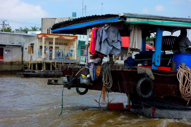 Перепад Меконга стоковое фото rf