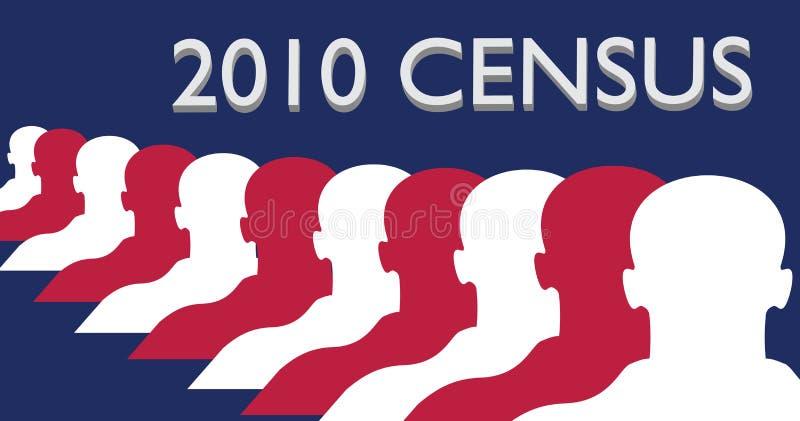 перепись 2010 бесплатная иллюстрация