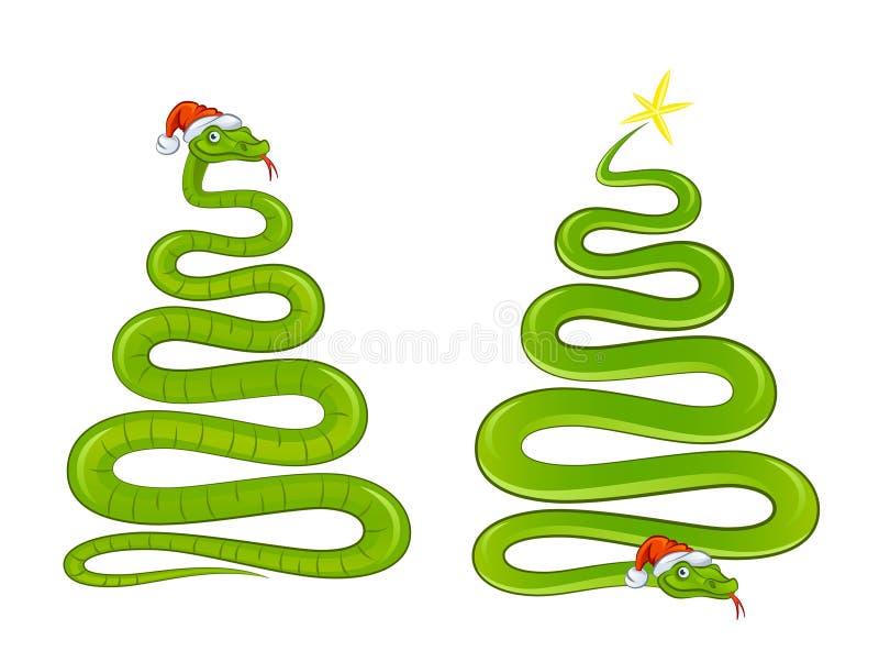 Переплетать змейку иллюстрация штока
