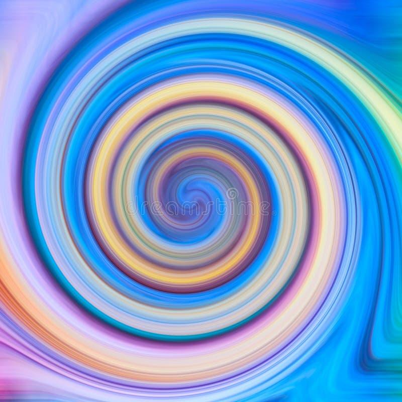 Переплетенная конспектом предпосылка текстуры twirl multicolour стоковое фото