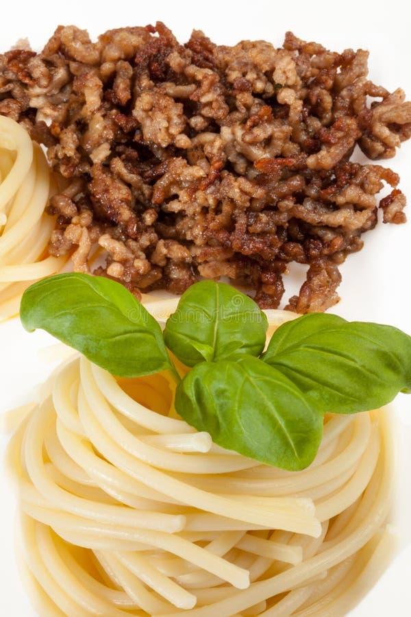 Переплетенные спагетти стоковое изображение