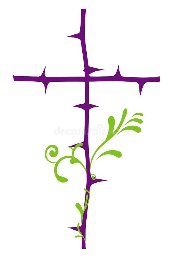 пересеките святейшее иллюстрация штока