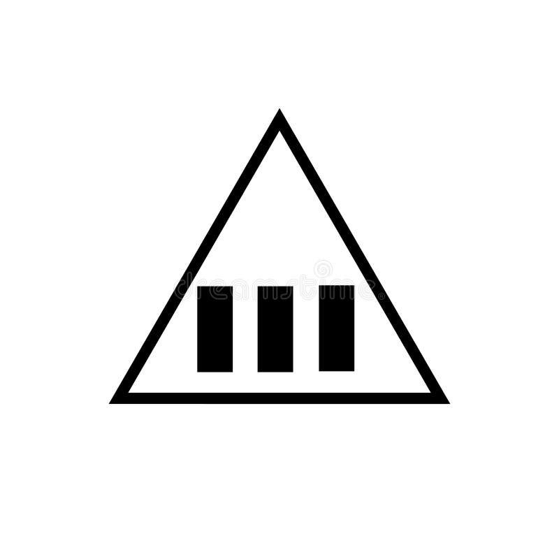 Пересечение дорог вектора значка изолированного на белой предпосылке, Cro дороги иллюстрация вектора