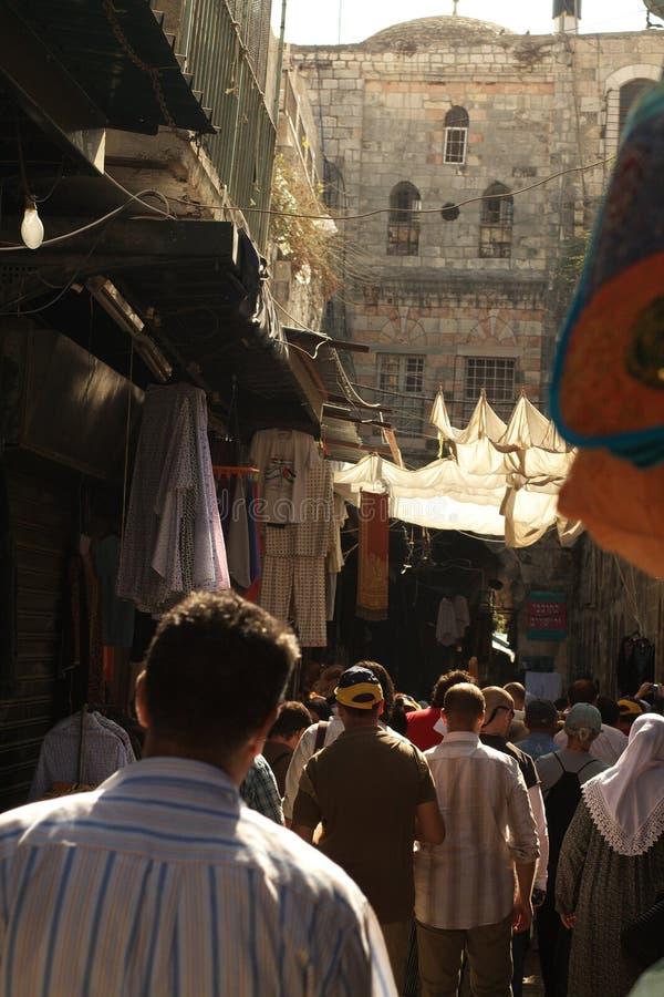 переулок Израиль Иерусалим стоковое изображение