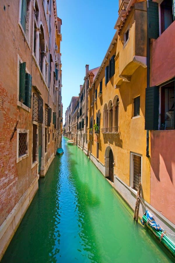 переулок красивейший venice стоковая фотография rf