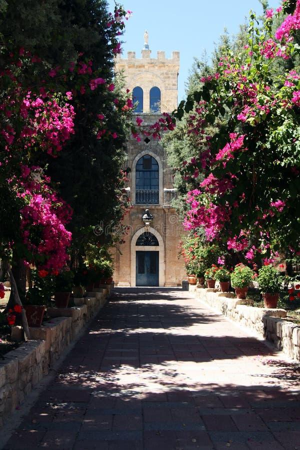 переулок monasterial стоковое изображение rf