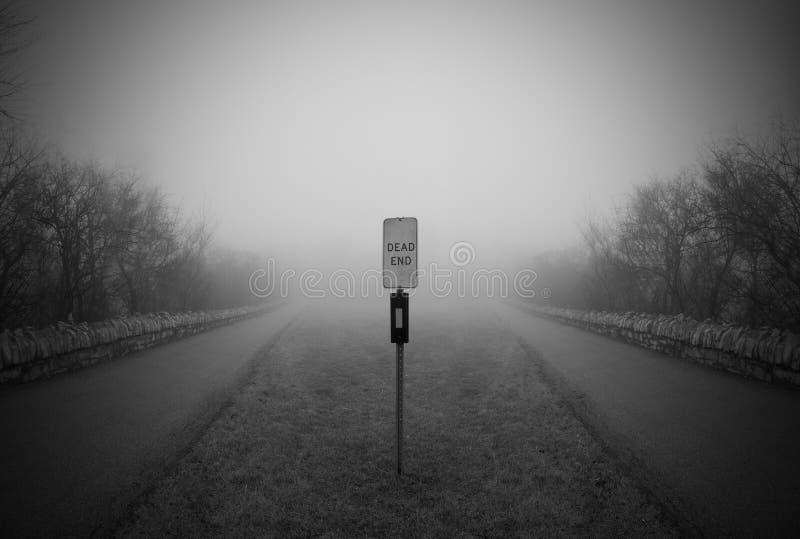 Переулок мертвого конца стоковые изображения