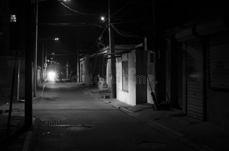 Переулок, переулки стоковое фото rf