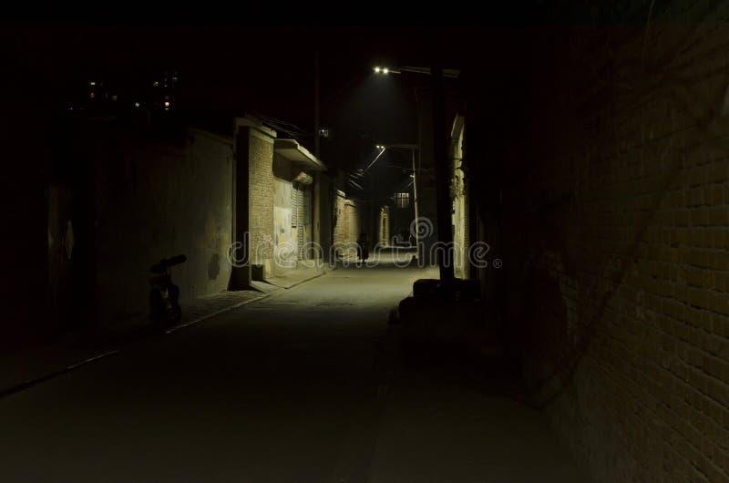 Переулок, переулки стоковые изображения rf