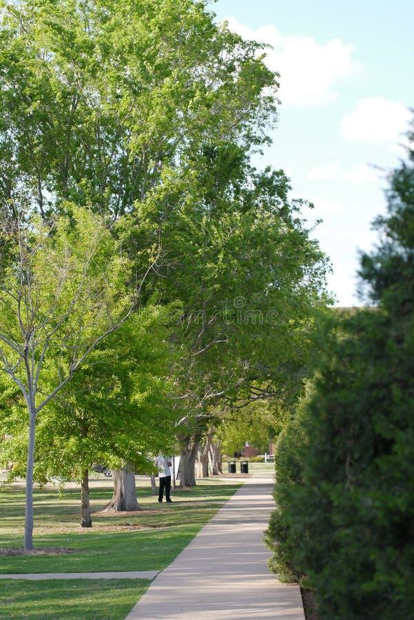 Переулок положения Оклахомы стоковое фото rf
