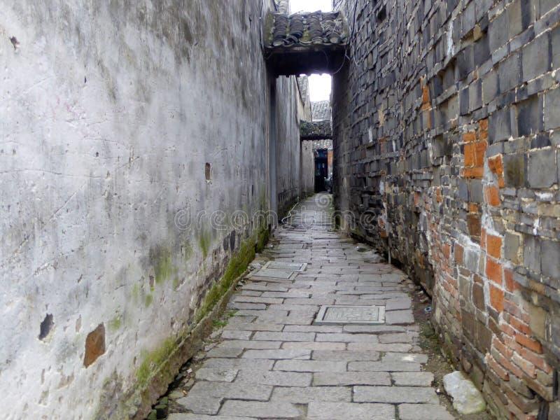 Переулок древнего города Tongli стоковое изображение