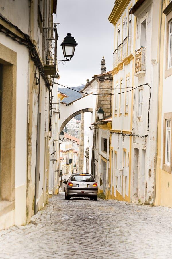 Переулок Portalegre Португалия стоковые изображения