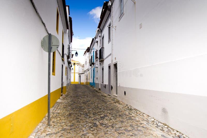 Переулок Portalegre Португалия стоковое фото