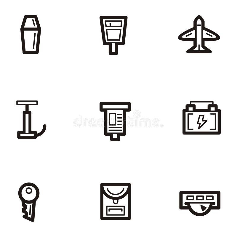 переход серии иконы простый бесплатная иллюстрация