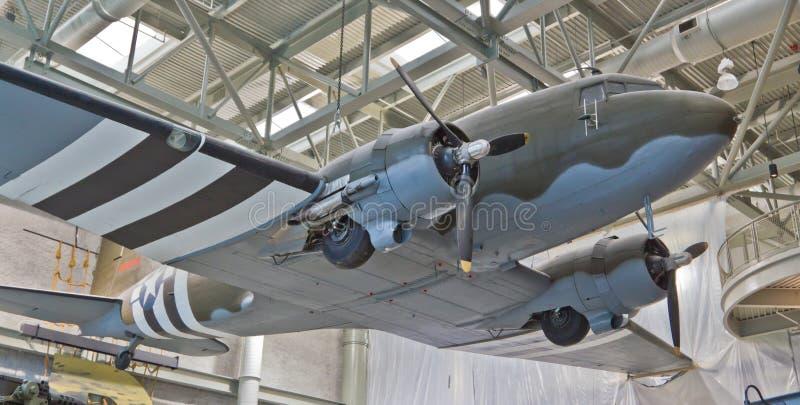 Переход C-47 Дугласа стоковые изображения rf