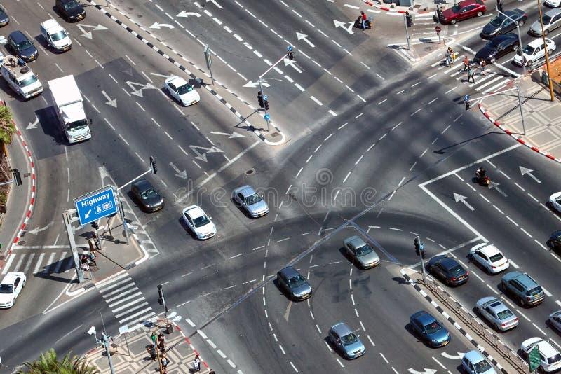 Переход города стоковое изображение rf