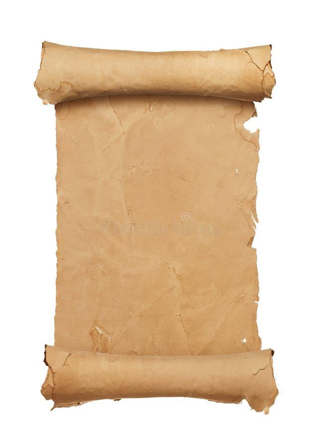 перечень пустой бумаги стоковая фотография rf