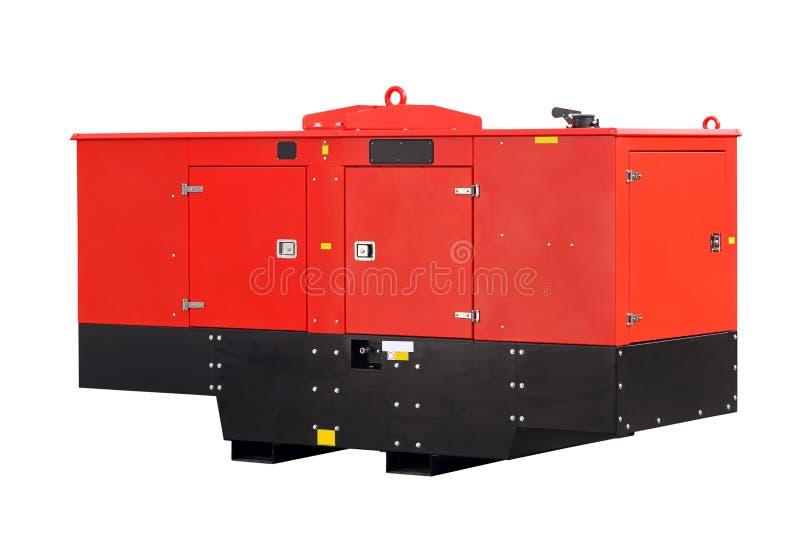 Передвижной генератор энергии стоковое изображение