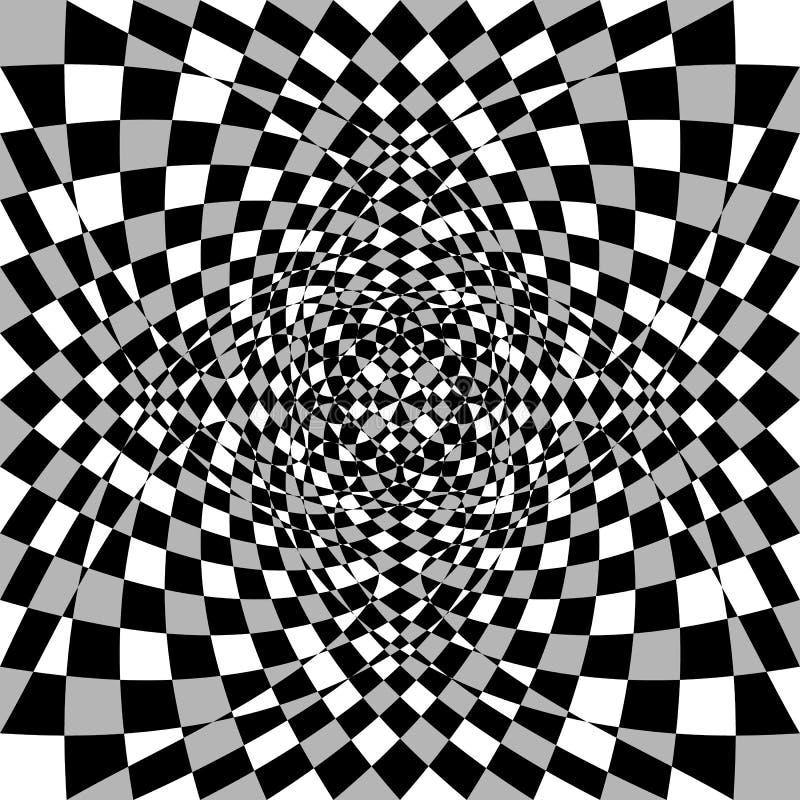 Download Передернутая, деформированная несимметричная текстура Tessellating грубое, нервный Иллюстрация вектора - иллюстрации насчитывающей деформация, передернуто: 81811001