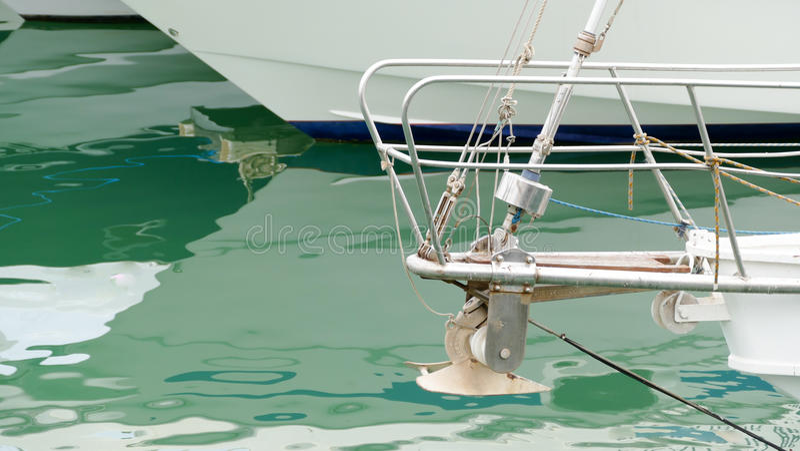 Передний корпус парусника стоковое изображение rf