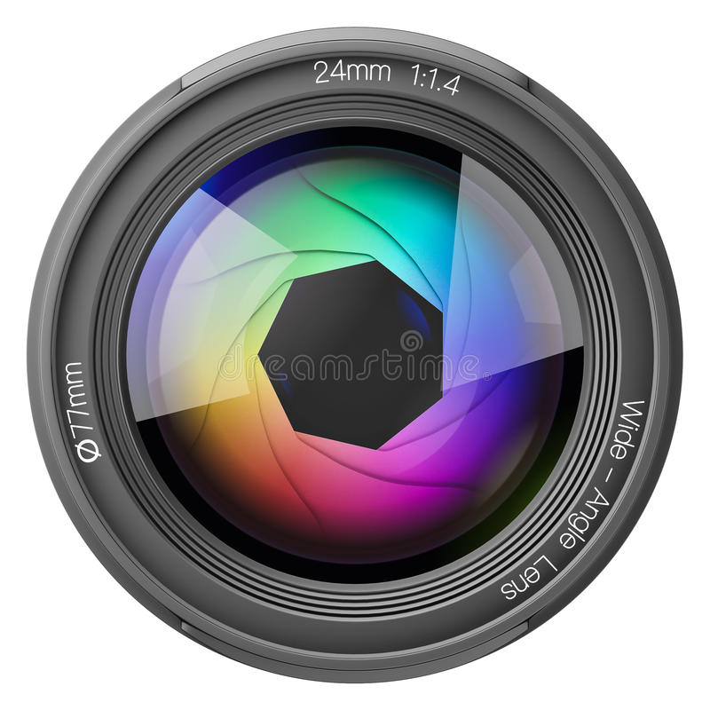 передняя линза 24mm иллюстрация штока