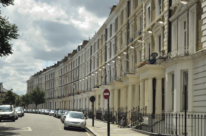 передняя georgian штукатурка london домов стоковое фото rf