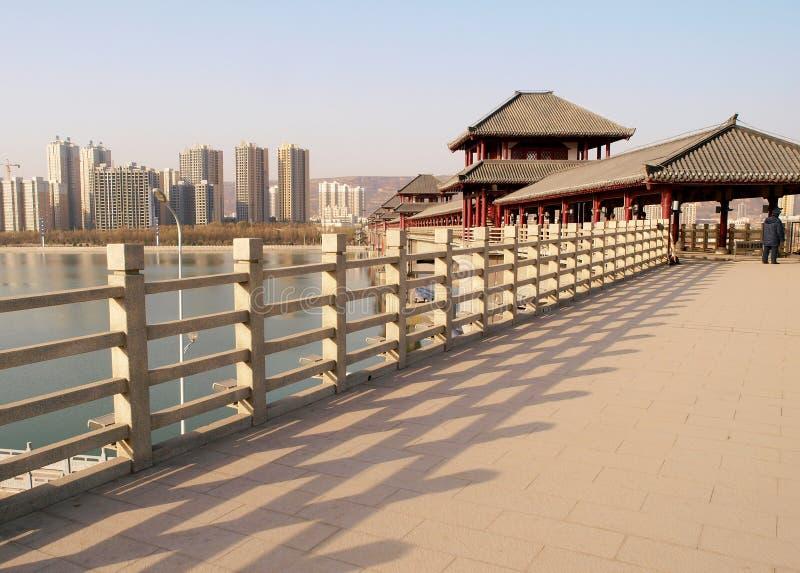 Перила моста стоковые изображения
