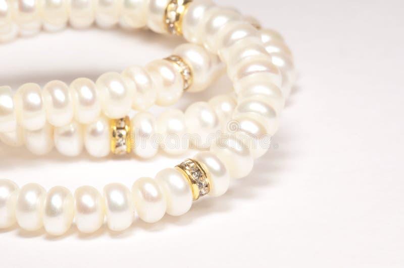 перла ожерелья стоковые фотографии rf