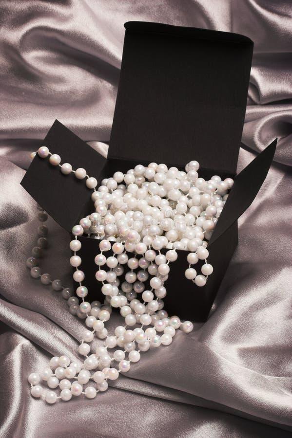 перла черного ящика стоковая фотография rf