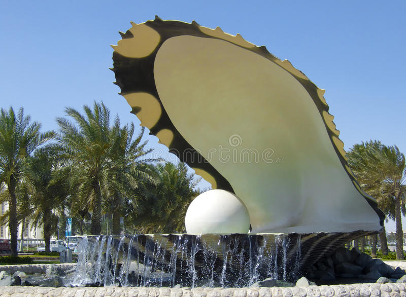 Перла Doha стоковое фото