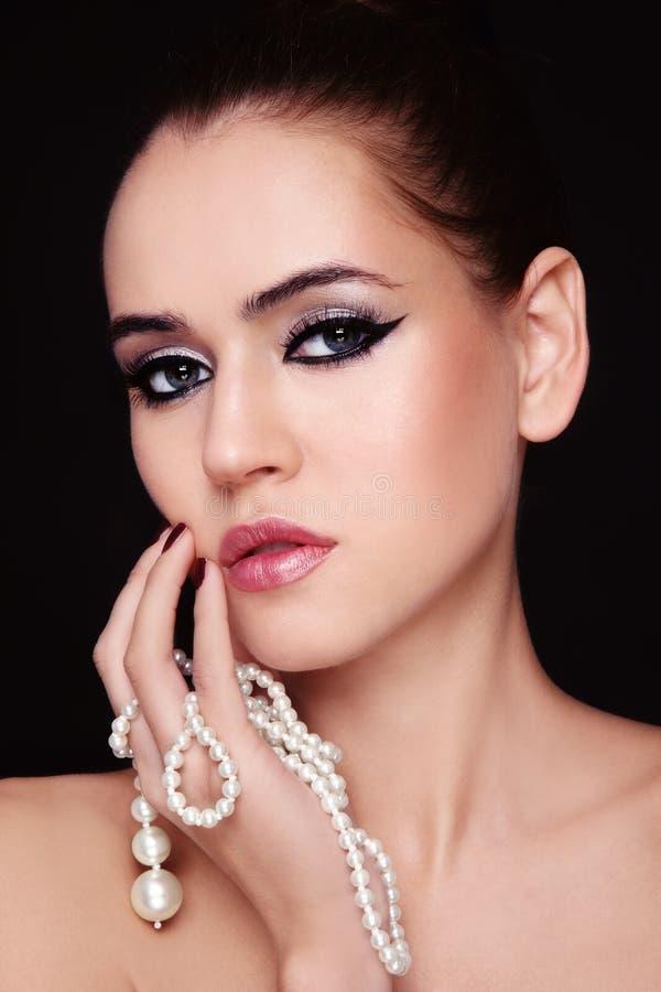 перлы красотки стоковое фото rf
